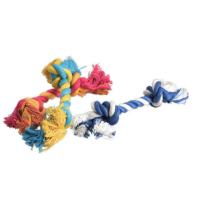 1 pcs Puppy Cotton Chew Knot Toy