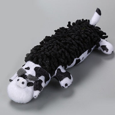 Cow Shape Sound Squeak Dog Toy
