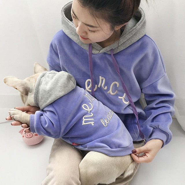 Fleece Family Clothes For Dog and Owner