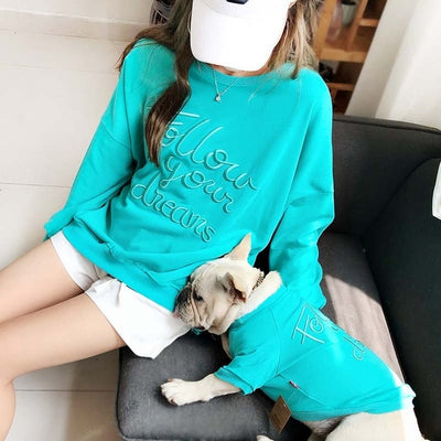 Fashion Family Clothes For Dog and Owner