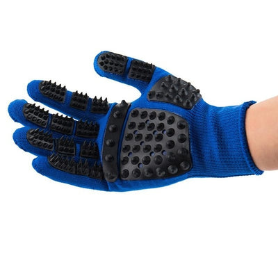 1pc Pet Grooming Gloves & Bath Massage