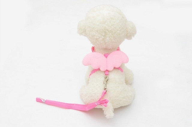 Cute Angel Dog Leashes & Harness