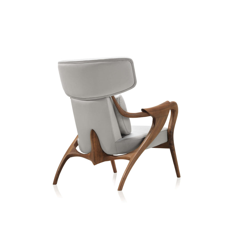Isadora Lounge Chair & Pouf