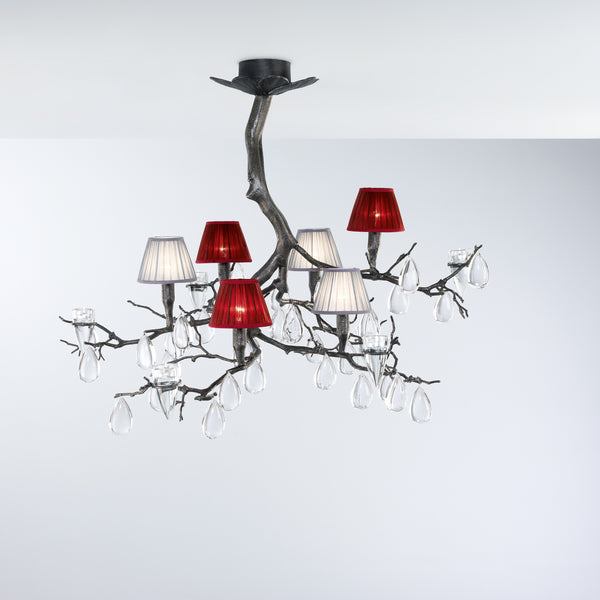 Fascinium 6 Shade Small Chandelier