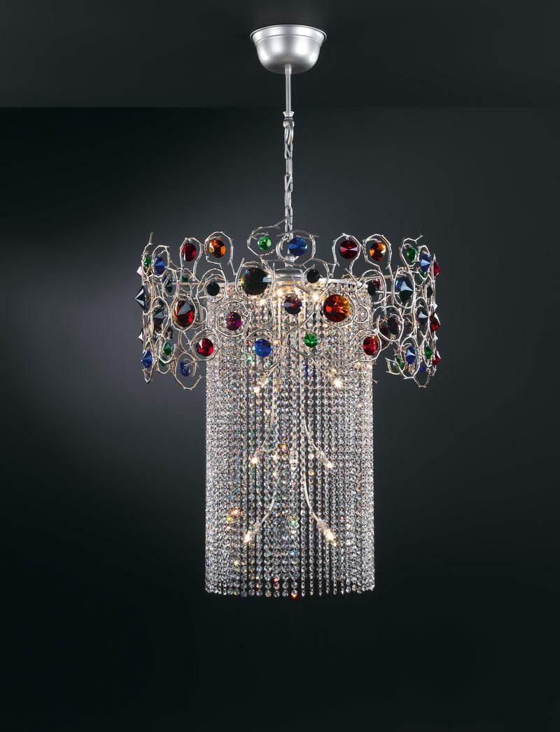 Diamond Round Chandelier