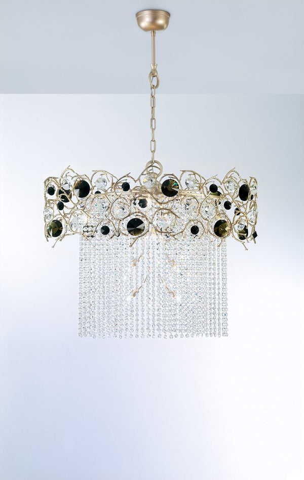 Diamond Oval Chandelier