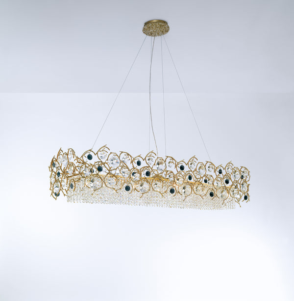 Diamond Rectangular Chandelier