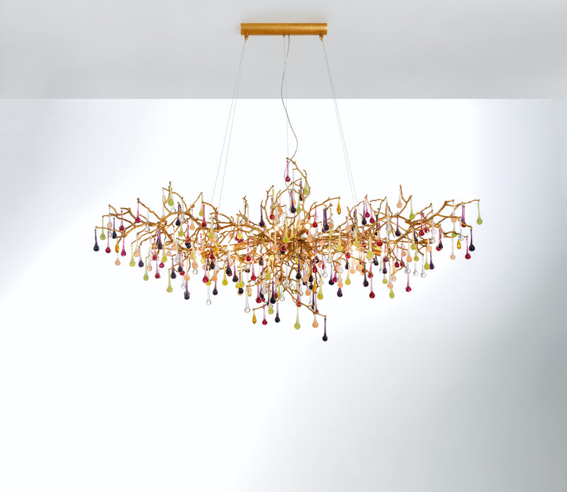 Bijout Oval Large Chandelier - NEW STOCK