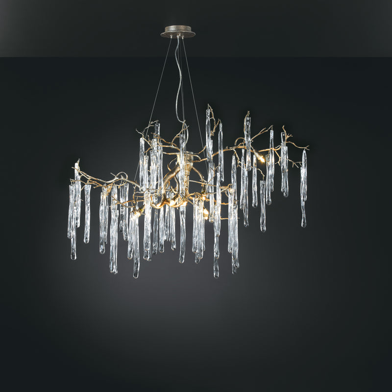 Glamour Oval Chandelier