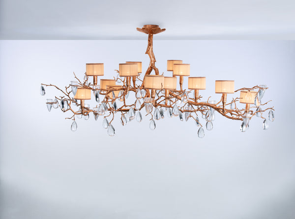 Fascinium 14 Shade Large Chandelier
