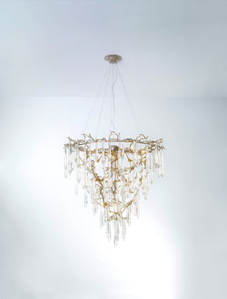 Aqua Funnel Large Chandelier