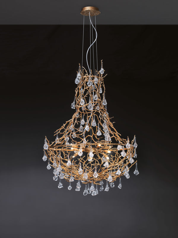 Coral Empire Small Chandelier