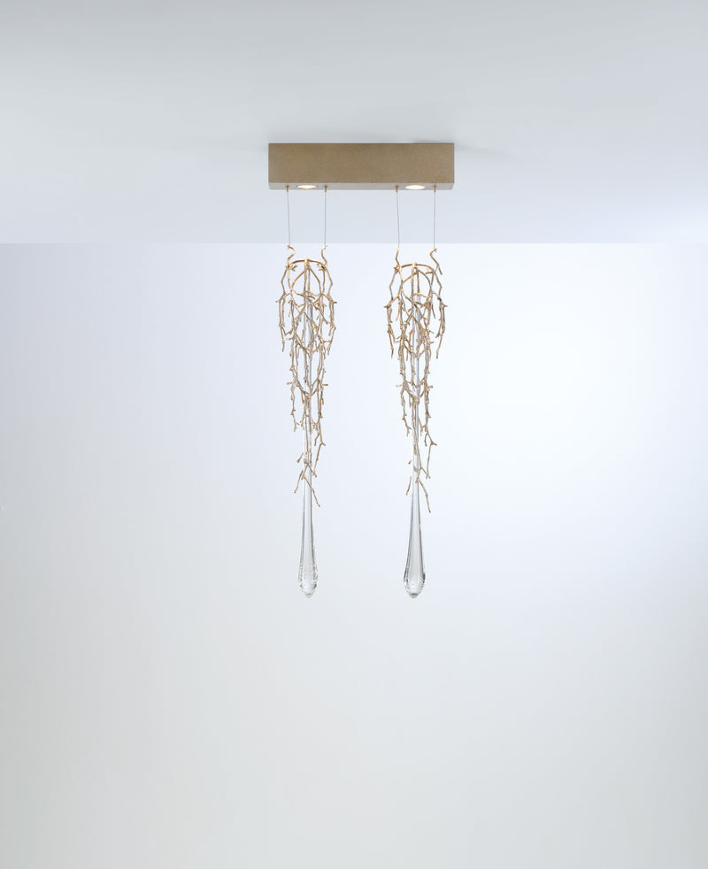 Liquid Horizontal Chandelier