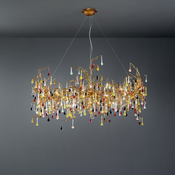 Bijout Drum Chandelier