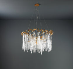 Niagara Round Chandelier - FLOOR MODEL