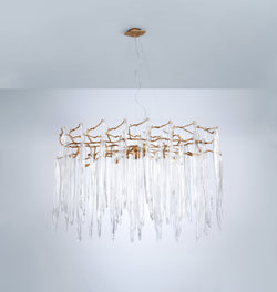 Waterfall Oval Chandelier
