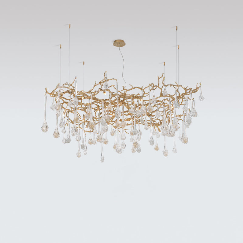 Coral Square Chandelier