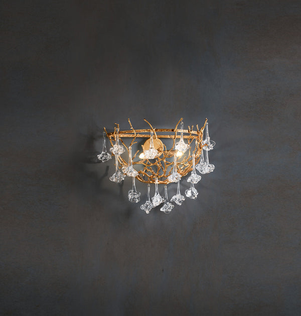Coral Demilune Sconce
