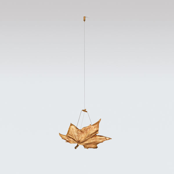 Folio Decorative Metal Leaf B Large Pendant