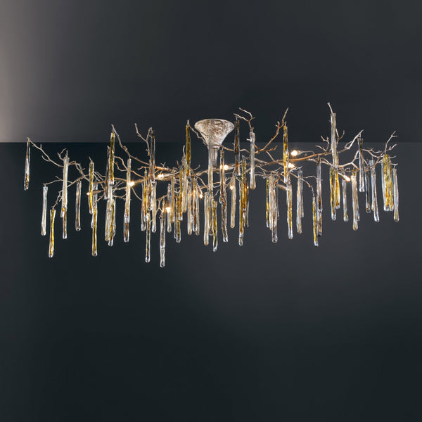 Glamour Oval Ceiling Light