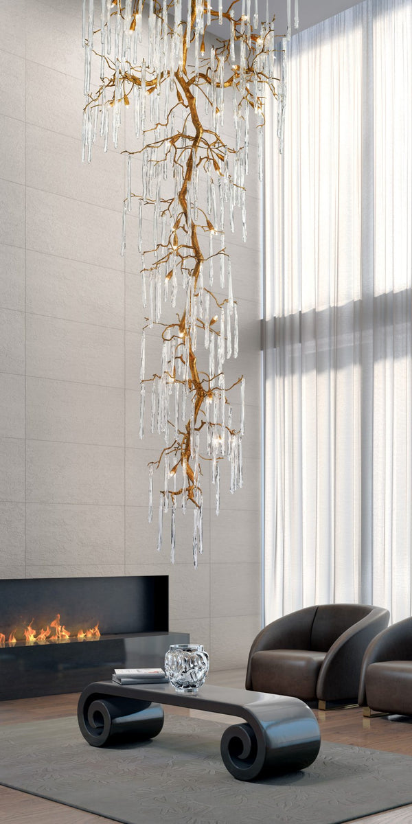 Glamour Staircase X-Large Chandelier
