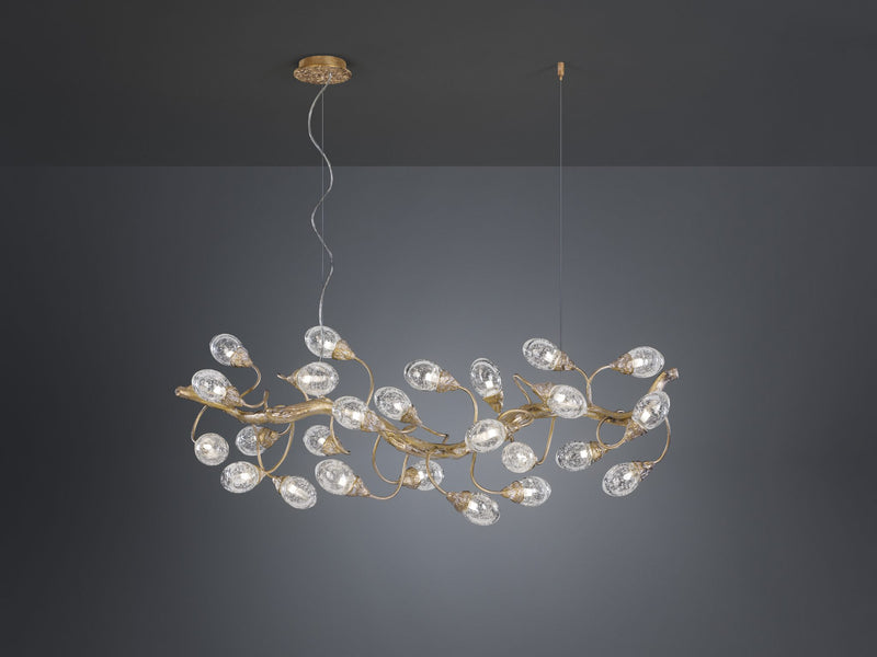 Lotus Horizontal Small Chandelier