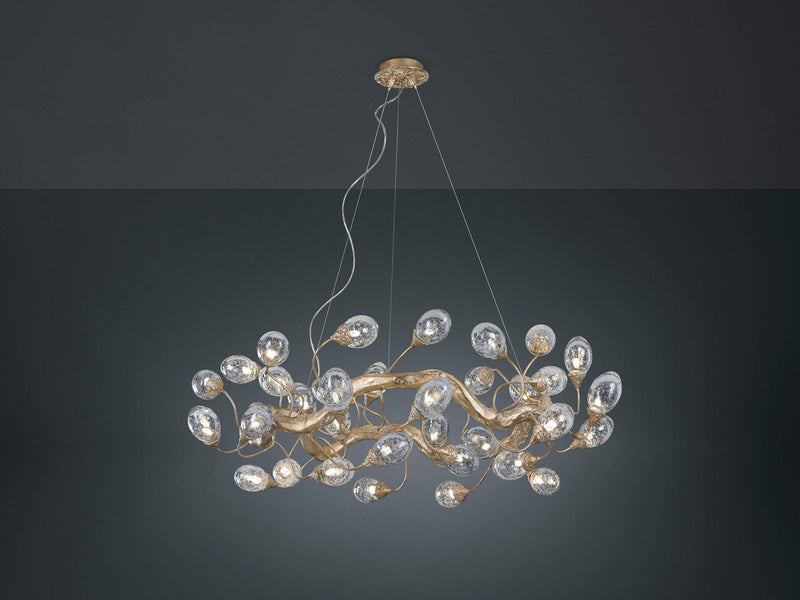 Lotus Ring Chandelier