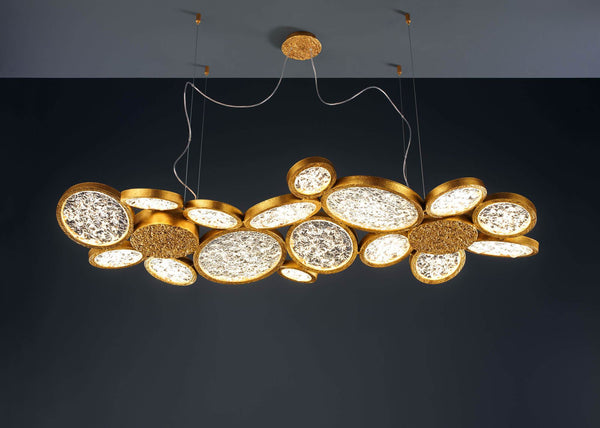 Luna Horizontal Chandelier - FLOOR MODEL