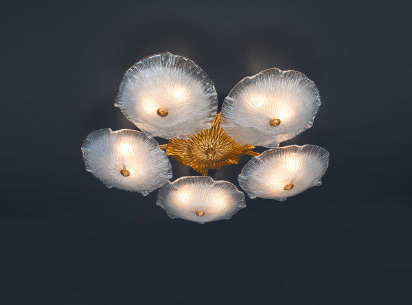 Nenufar Pentagon Ceiling Light