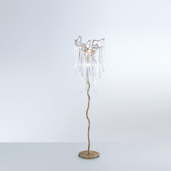 Waterfall Floor Lamp - FLOOR MODEL