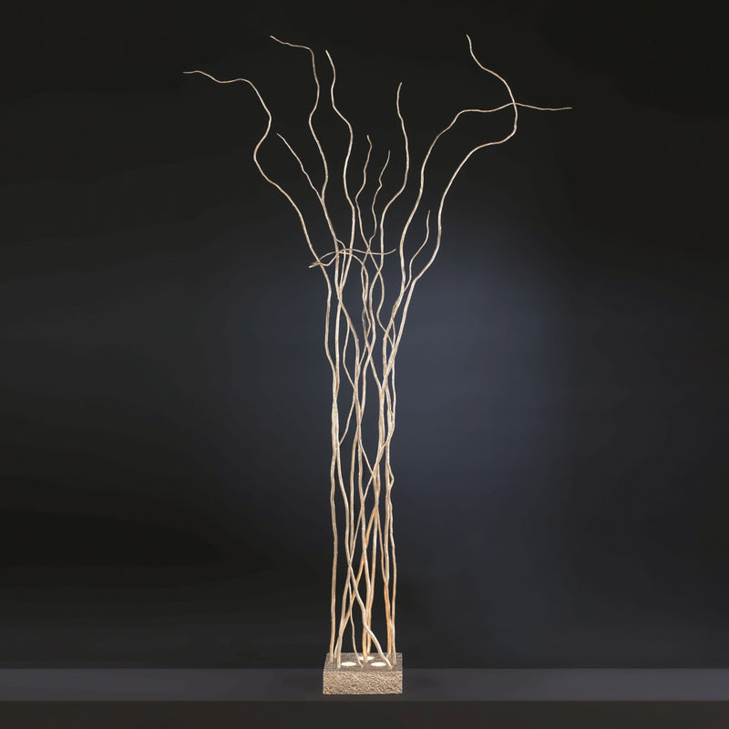 Wind Square Base Floor Lamp - Floor Model