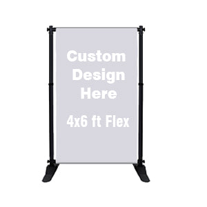 Custom Printed Banner 4x6ft