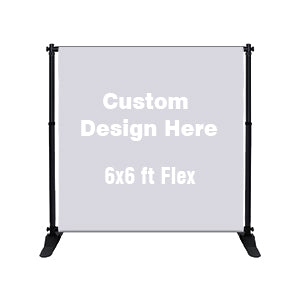 Custom Printed Banner 6x6ft
