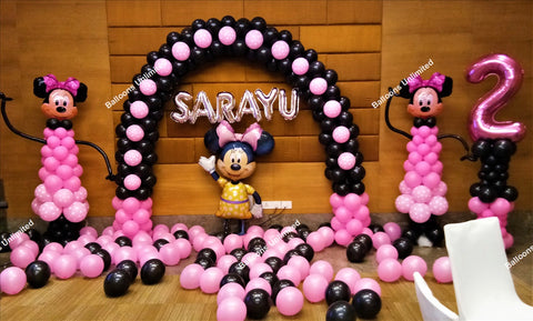 Minnie Mouse Themed Arch