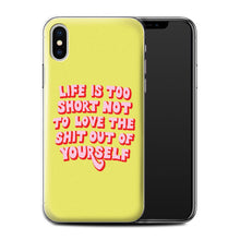 Load image into Gallery viewer, Life Too Short Phone Case