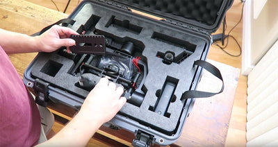#1 DJI Ronin-M Hard Case Review Video