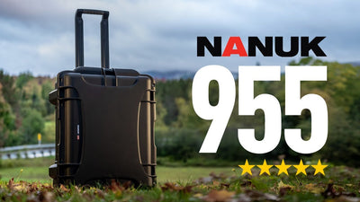 Nanuk 955 Review Video - Large Protective Case for Storage