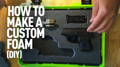 How to Cut and Plasti Dip Foam for Your Hand Gun (Custom Case)
