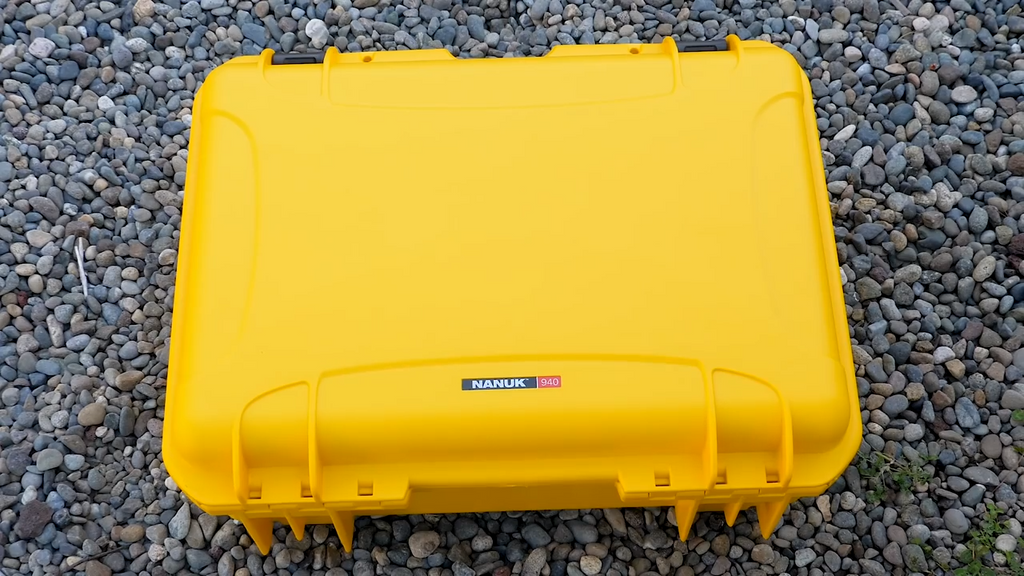 Nanuk 940 Yellow Waterproof Case