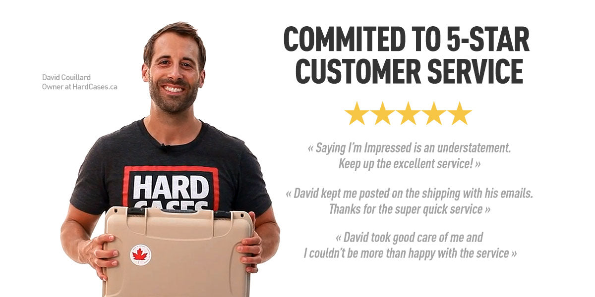 David Couillard from Hardcases.ca Offers 5-Star Customer Service
