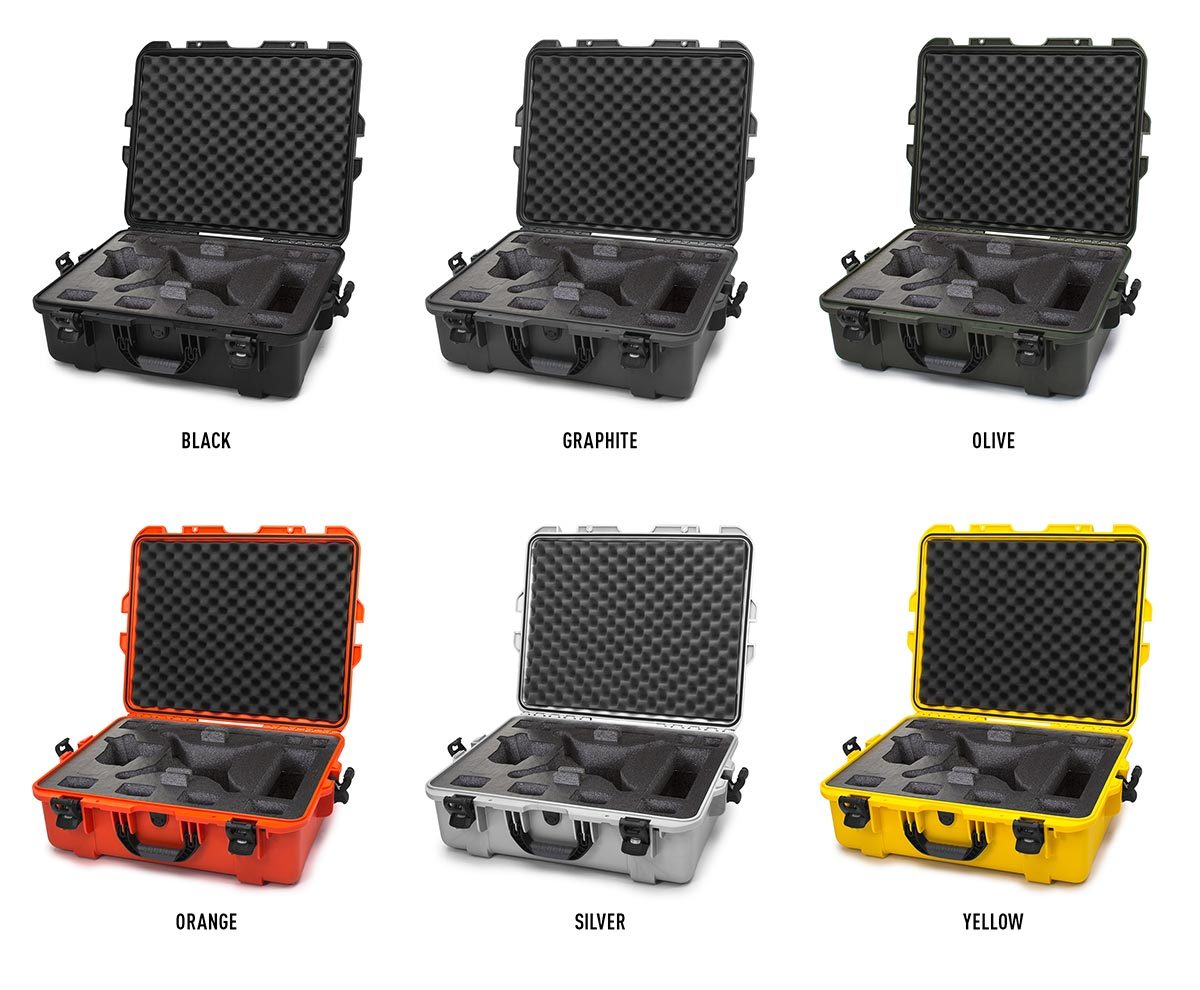 The Nanuk 945 for Phantom is available in 6 colors