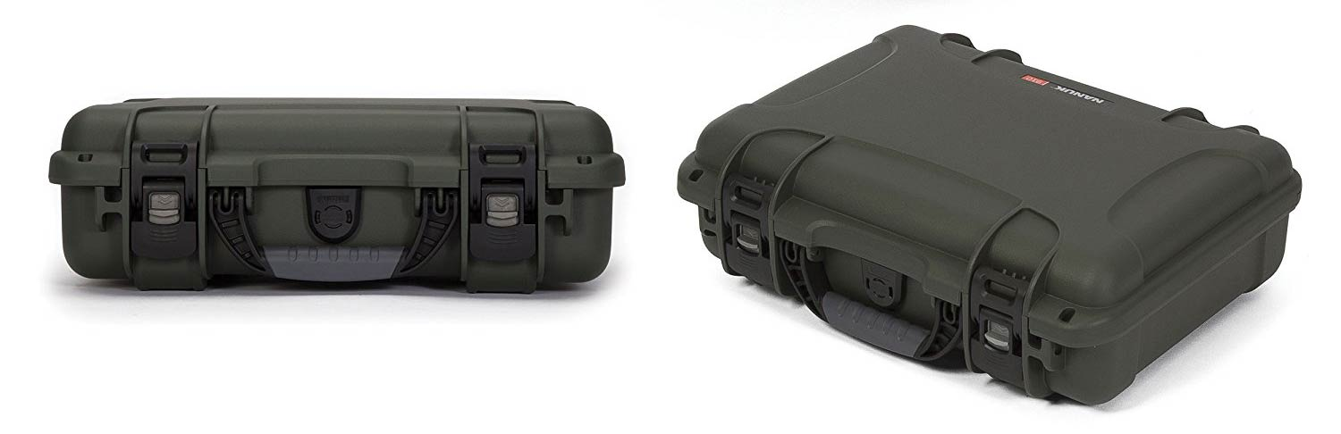 Nanuk 910 2 Up For Glock in different angles