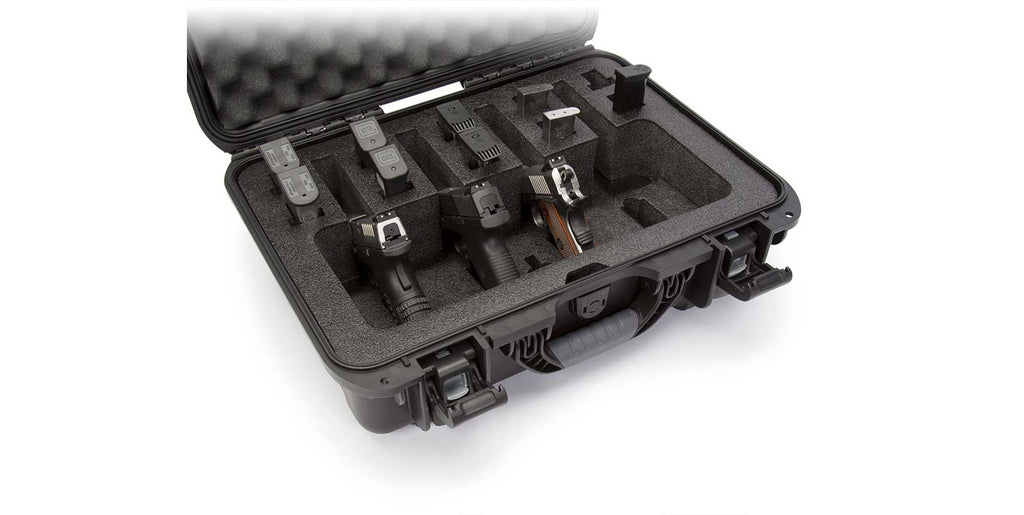 Nanuk 925 4 Up Gun Case in Graphite
