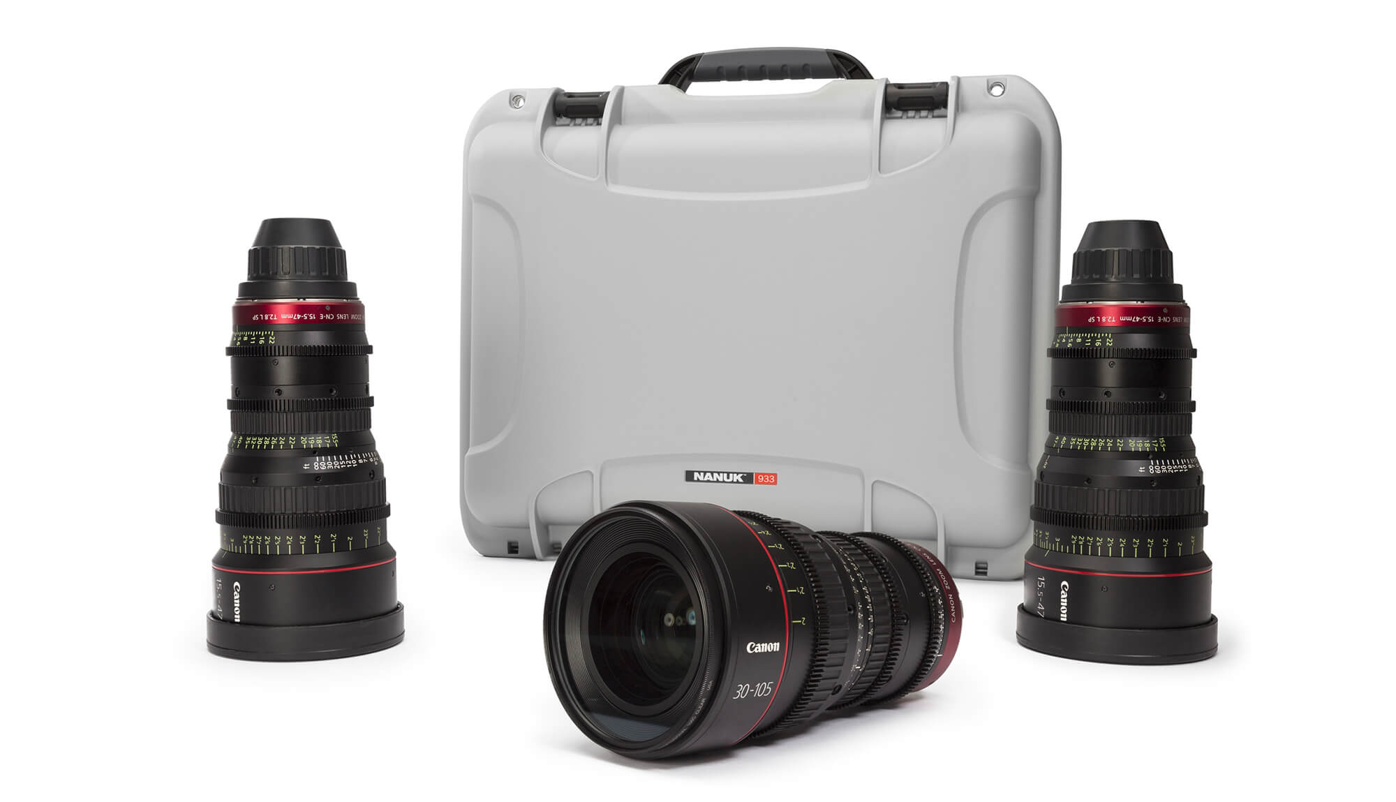 Nanuk 933 Hard Case for Camera Lenses
