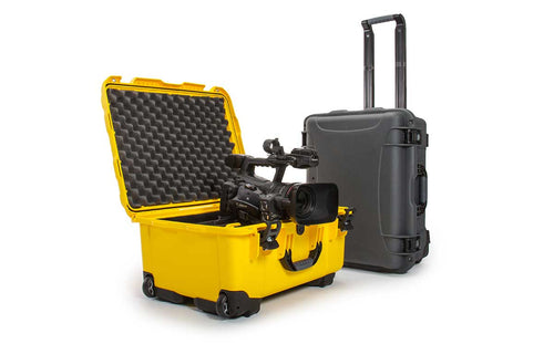 Nanuk 950 in Yellow for Video Gear