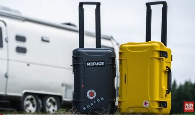 Nanuk 938 in Yellow and Nanuk 935 in Black