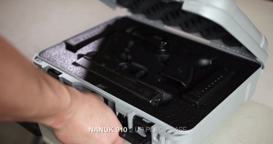Nanuk 910 Classic Hard Case Interior Custom Foam