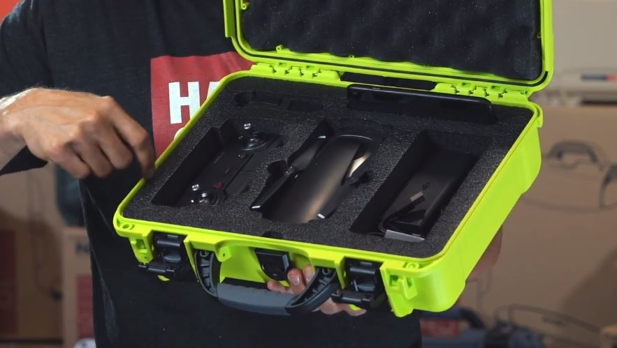 Nanuk 910 DJI Mavic Case Custom Foam