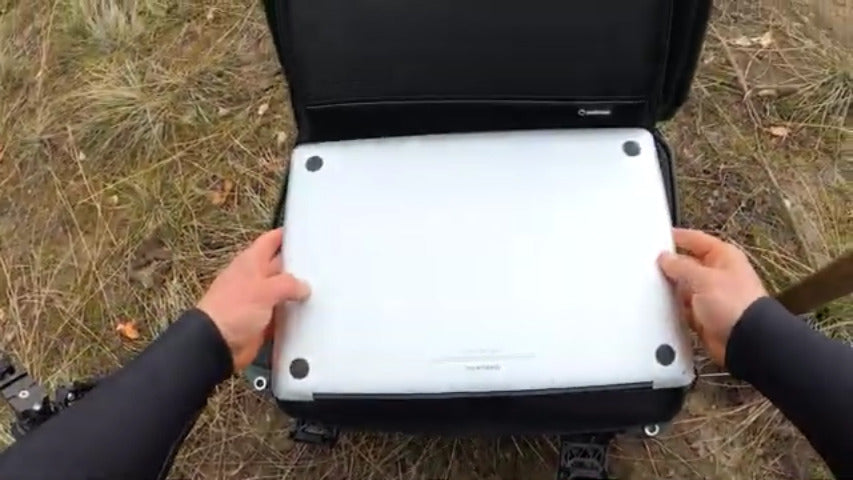 Nanuk 923 Laptop Intact After Testing