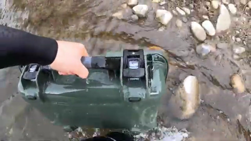 Nanuk 923 Waterproof Tested Hard Case